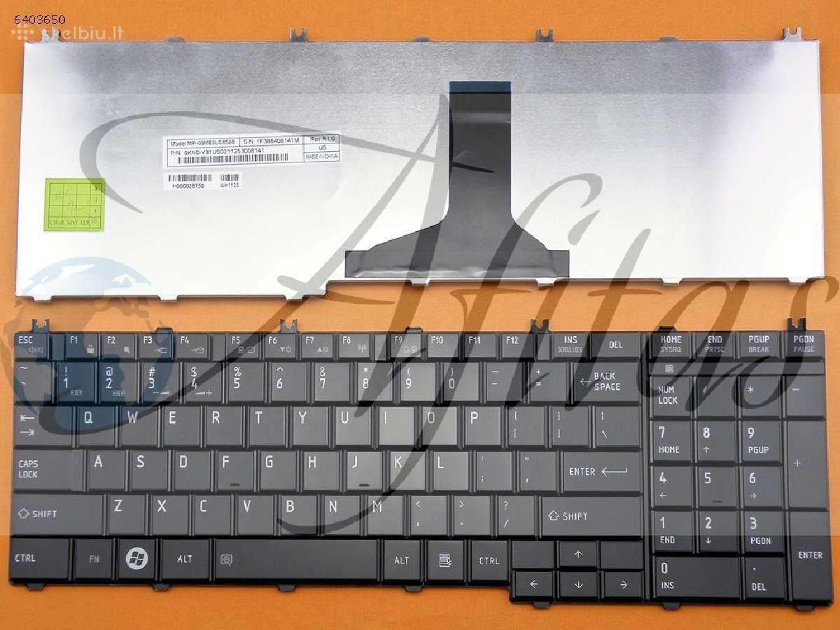 Nešiojamų klaviaturos toshiba nuo 15 eu