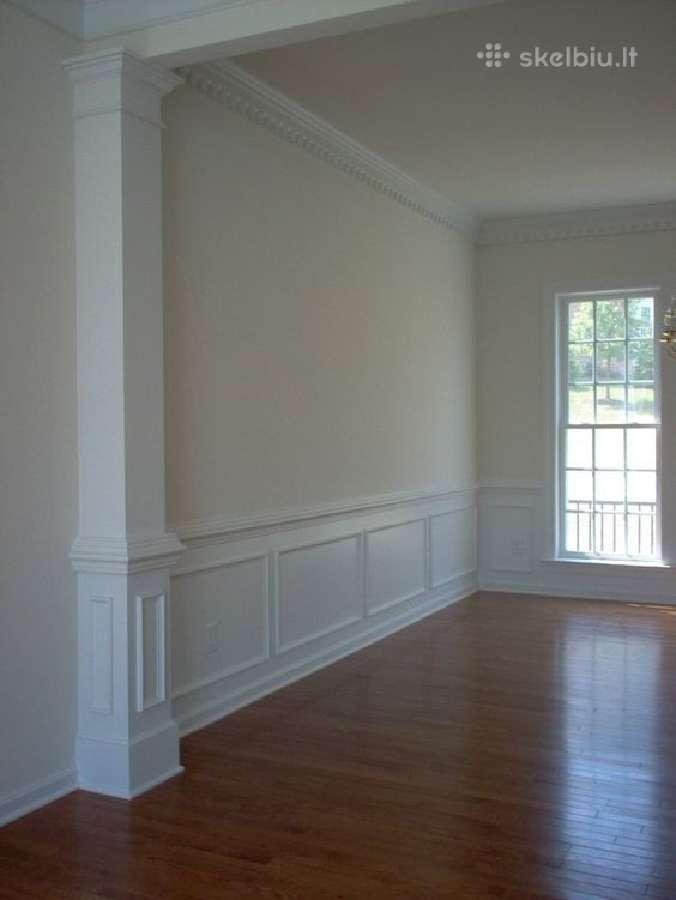 Grindjuostės, durų ir lubų apvadai, parduodame