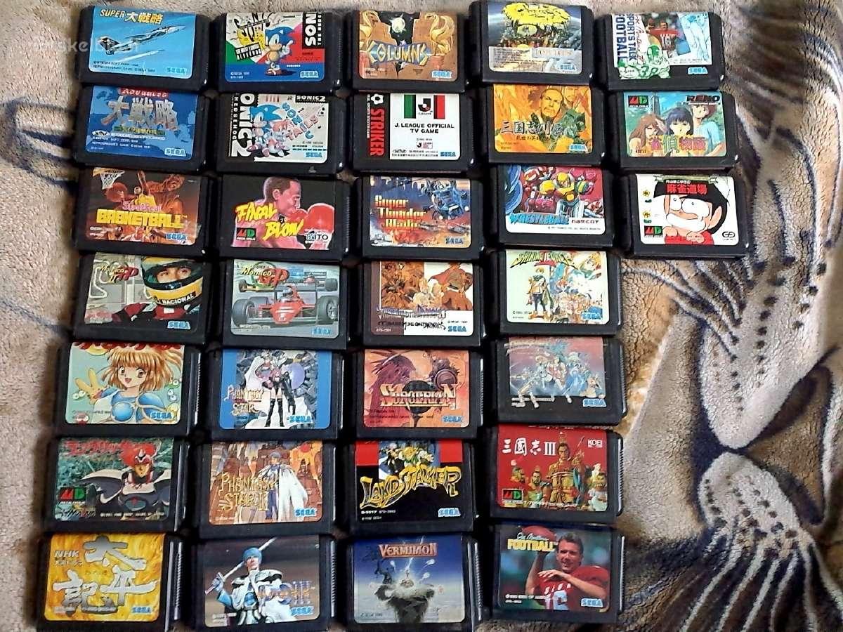 Originalūs Sega Mega Drive žaidimai / disketės