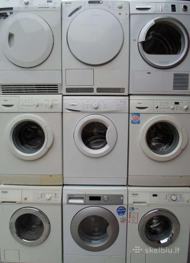Naudotos Vokiskos skalbimo masinos miele bosch