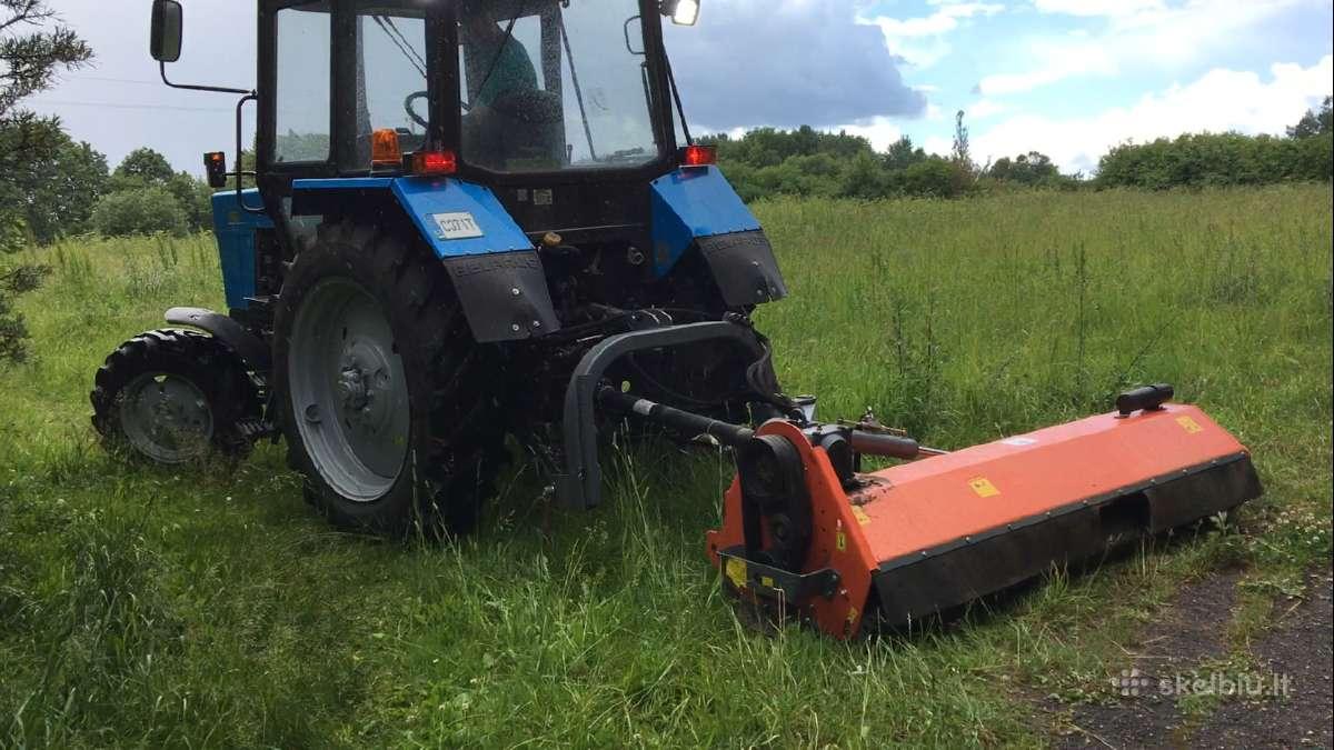 Žolės pjovimas