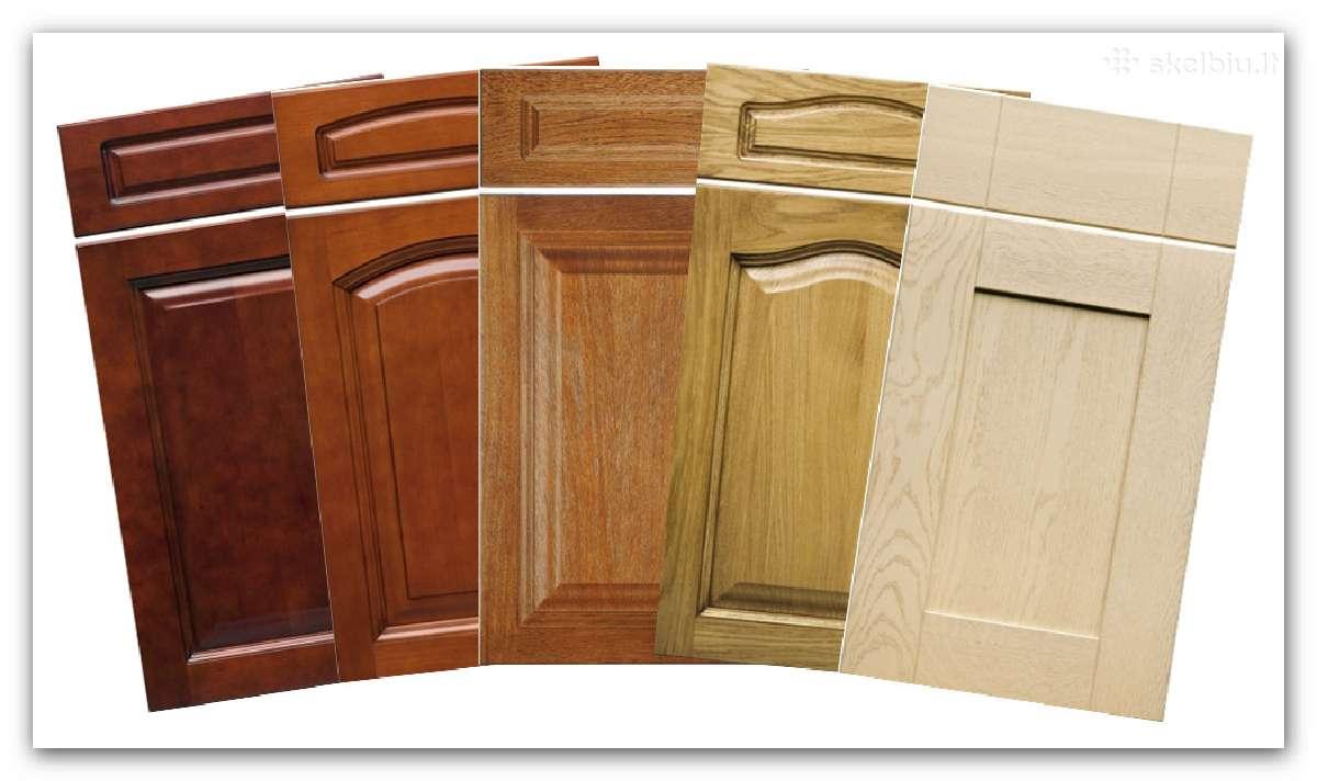 Medinių fasadų/durelių gamyba
