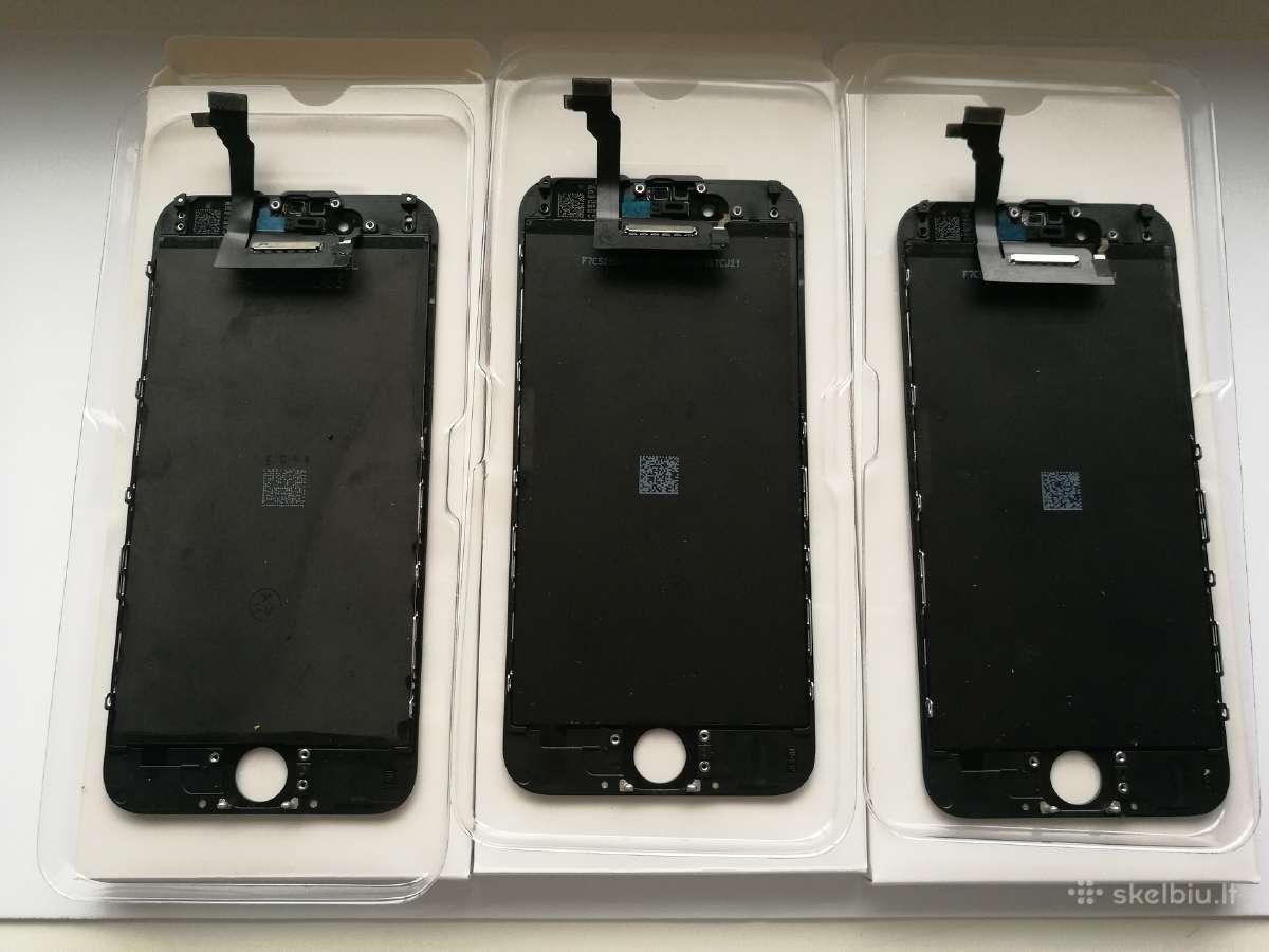Originalūs iPhone LCD ekranai, baterijos, priedai