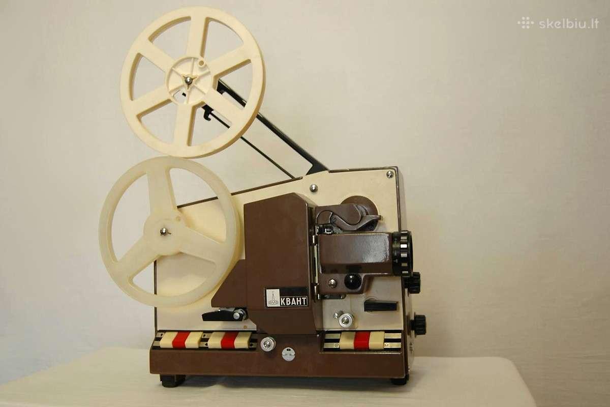 Kino projektorai 8mm-8mm super kvant,rus (ussr)
