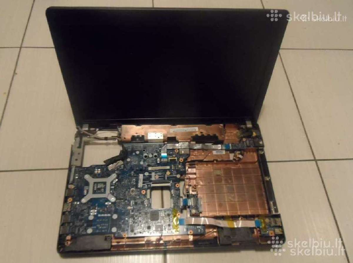 Acer, Asus, Dell, Hp, Lenovo kompiuteriai dalimis