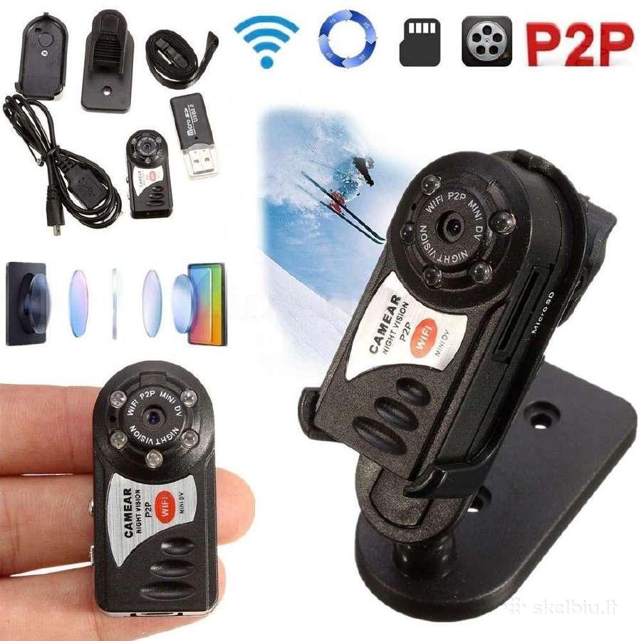 Mini WiFi, p2p, Ip kamera