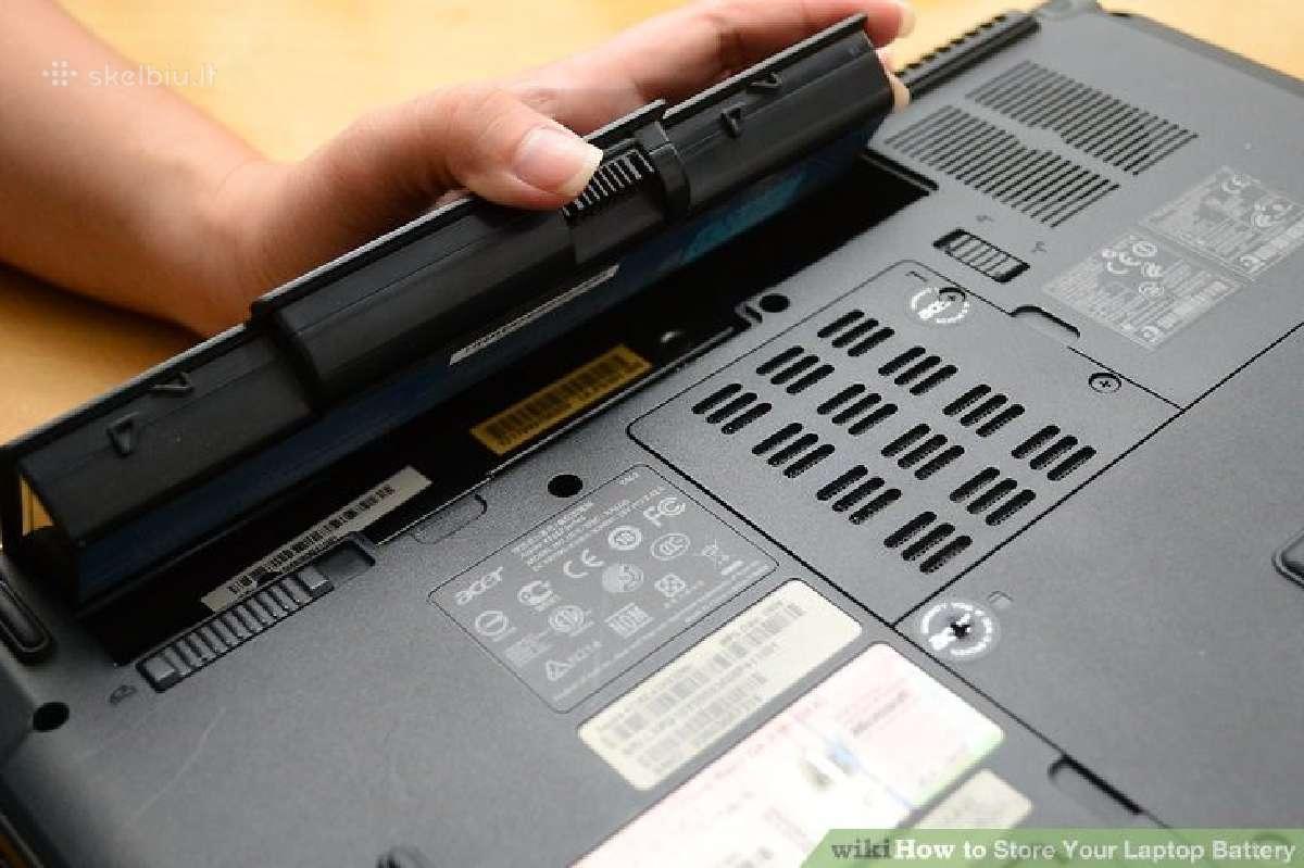 Baterijos (akumuliatoriai) Dell laptopams