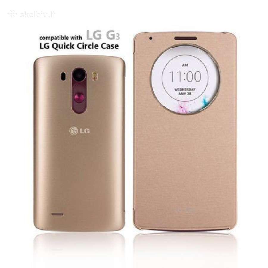 Naujas originalus LG G3 auksinis dėkliukas