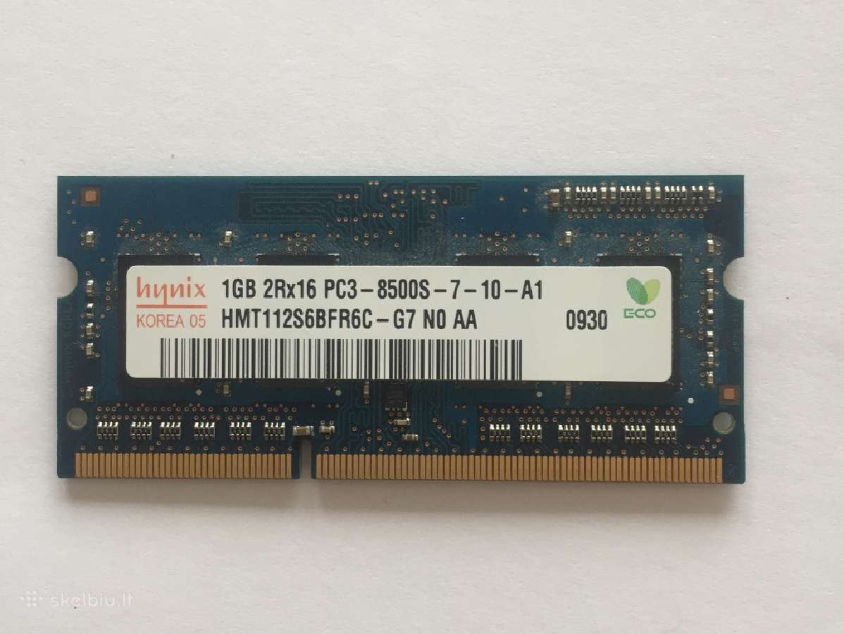1g RAM originalus skirtas MacBook Pro