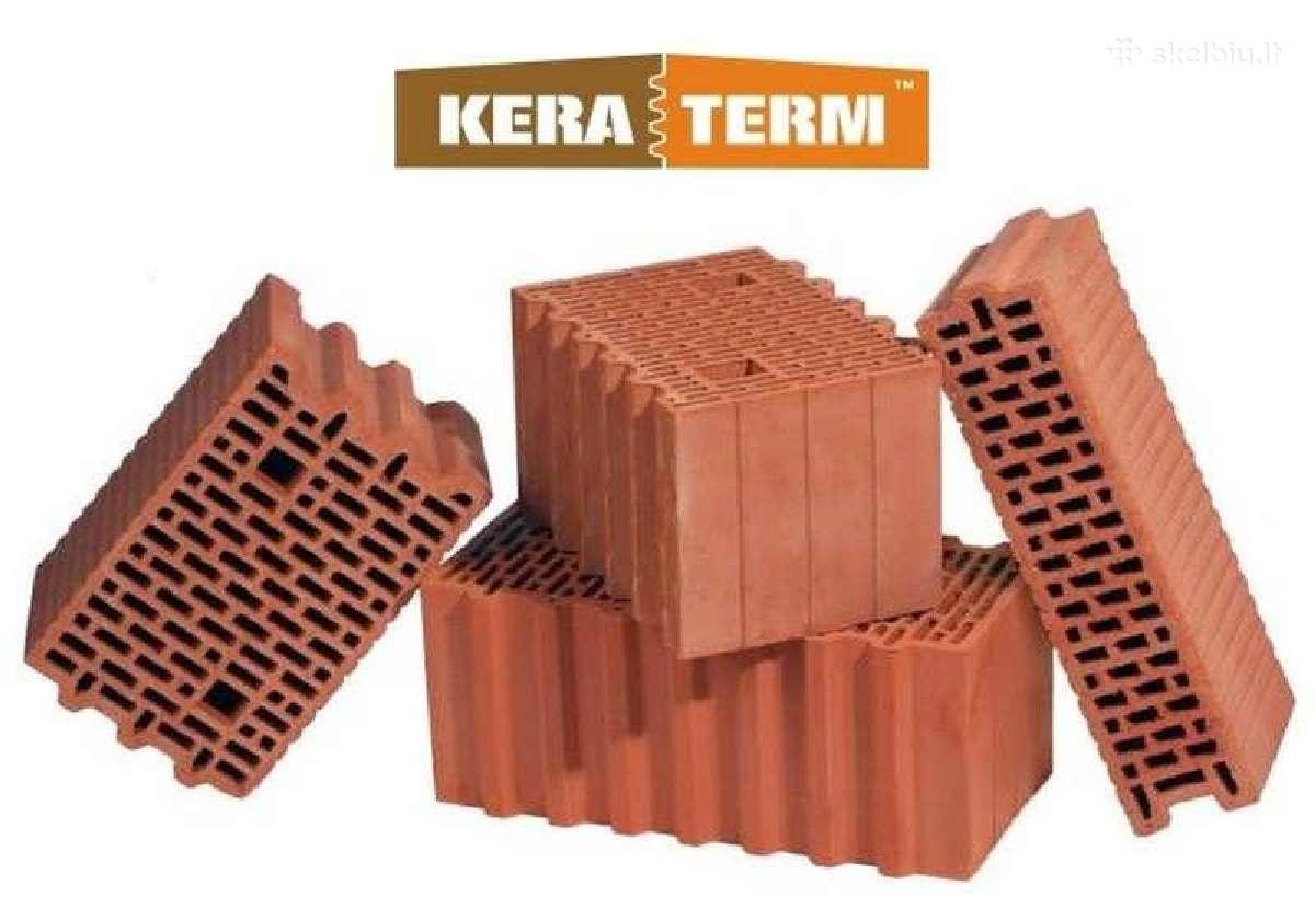 Keraminiai blokeliai Keraterm (Lode)