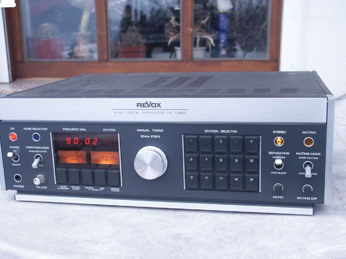 REVOX B760  450 eur.
