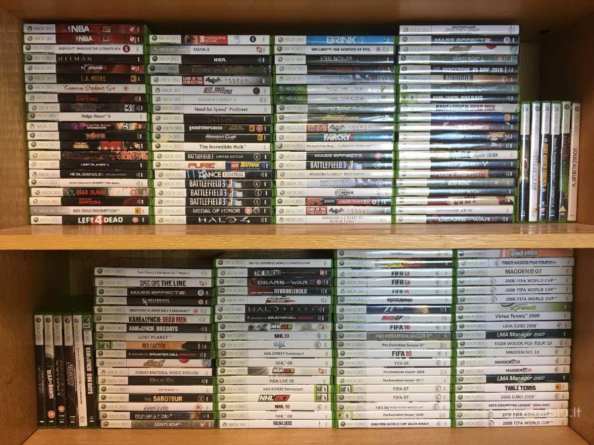 Xbox360 originalus žaidimai. labai pigiai
