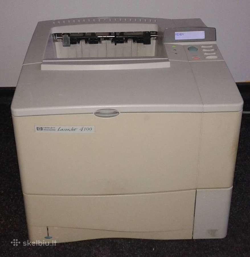 Hp Laserjet 4100, nepatkrintas