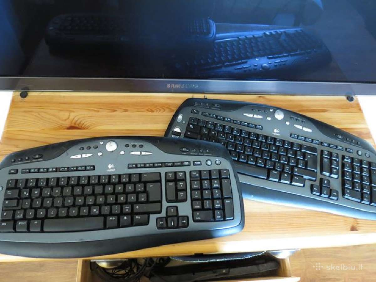 Belaidė logitech klaviatura