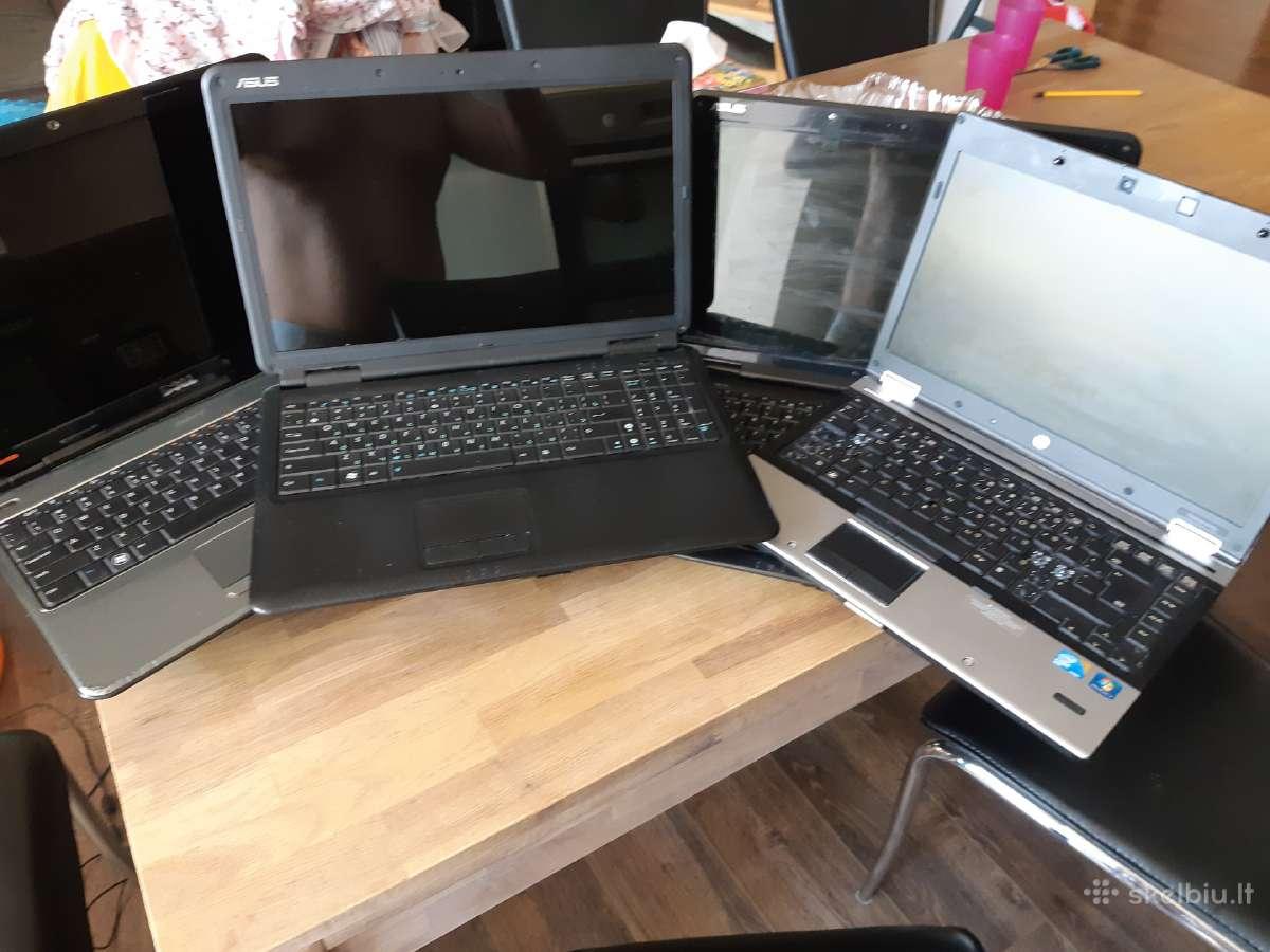 Nešiojamų kompiuterių dalys