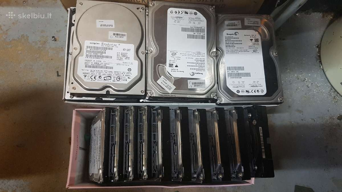 HDD diskai stacionariems kompams