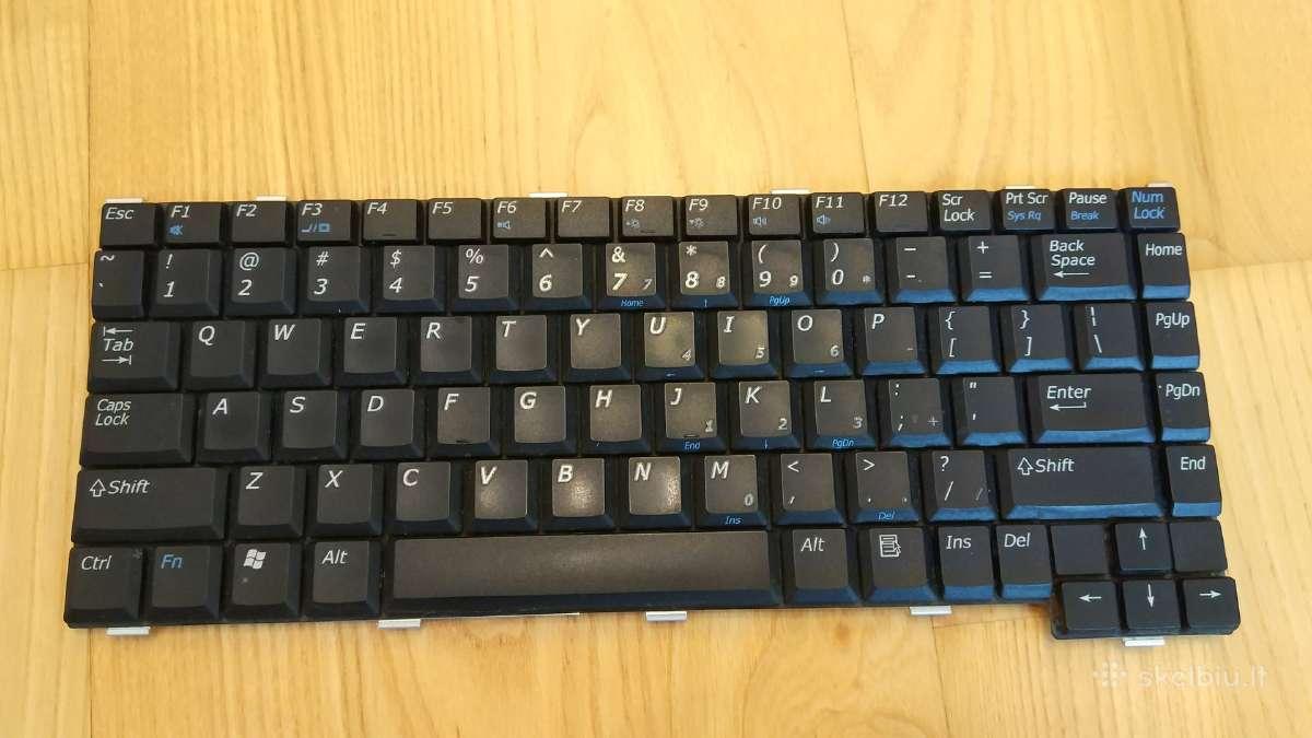 Dell Inspiron 1000 klaviatura