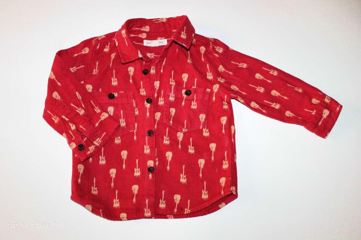 Marškiniai iglomis rankovėmis berniukui iki 2 metu