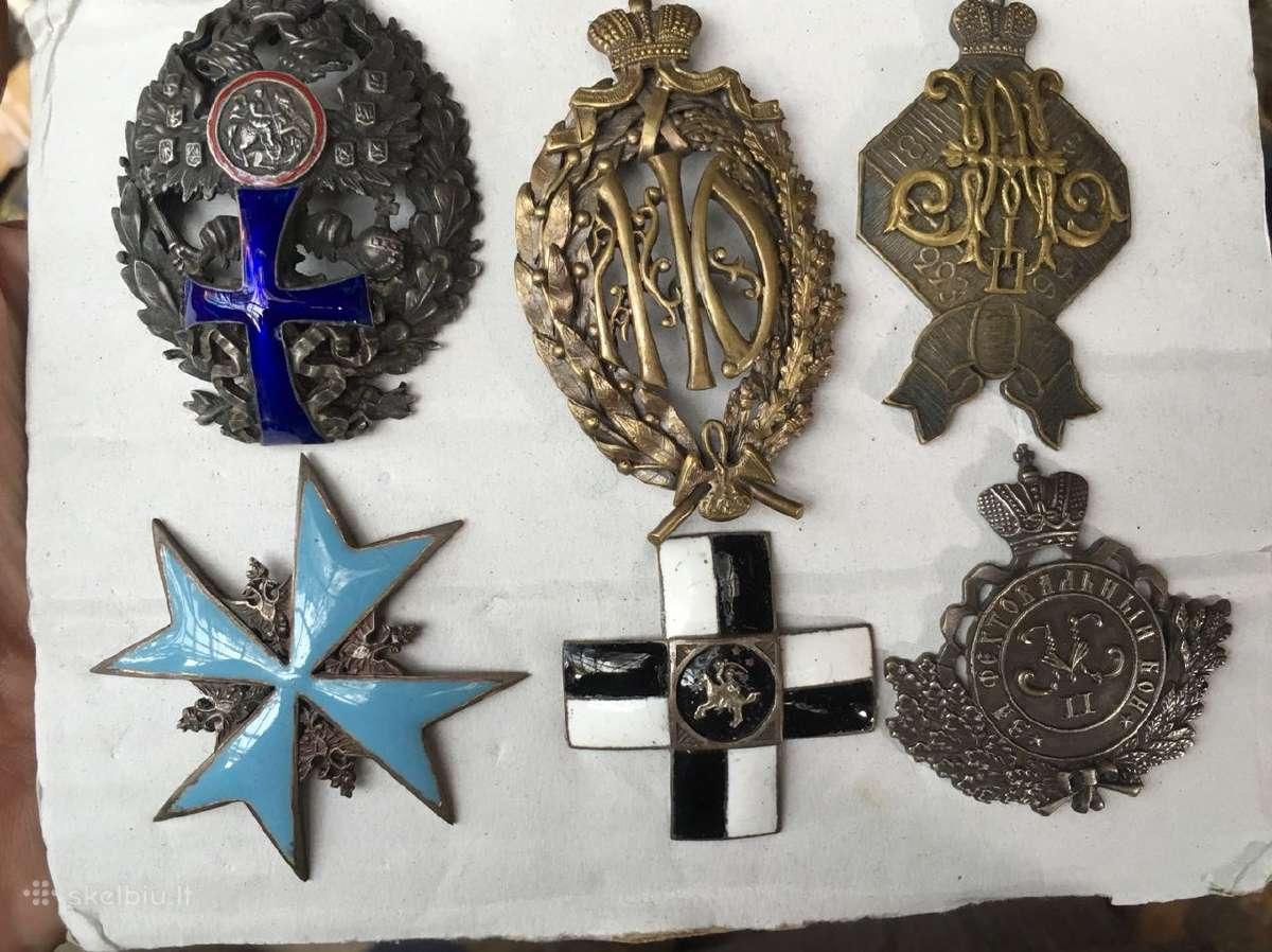 Perku ženkliukus, ženklus, medalius kolekcijai