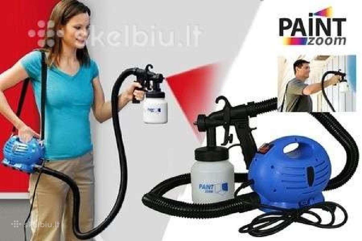Dažų pulverizatorius / elektrinis dažų purkštuvas