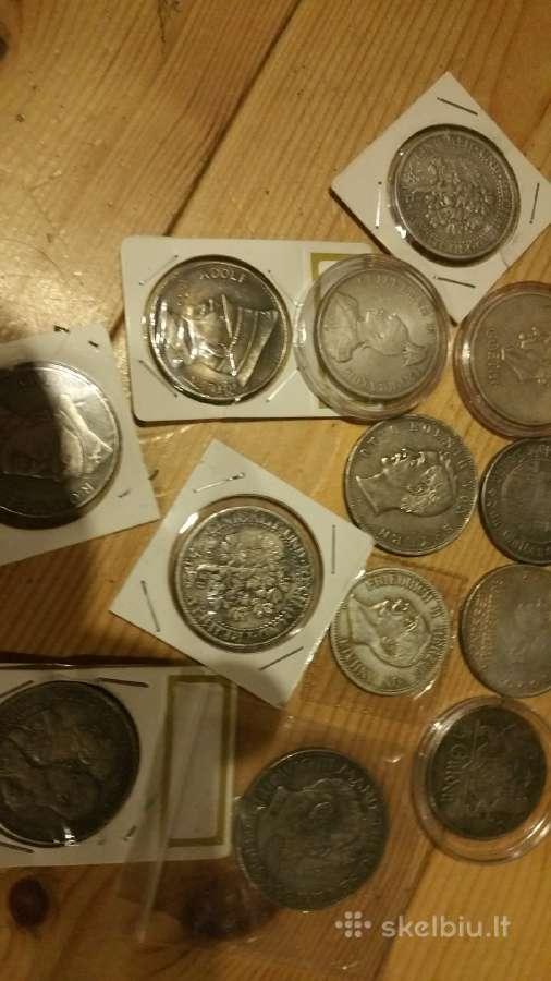 Parduodu kelias Vokiškas monetas kaina 5 eurai
