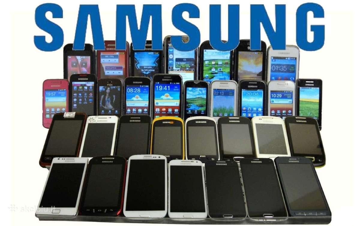 Samsung naudoti telefonai su garantija