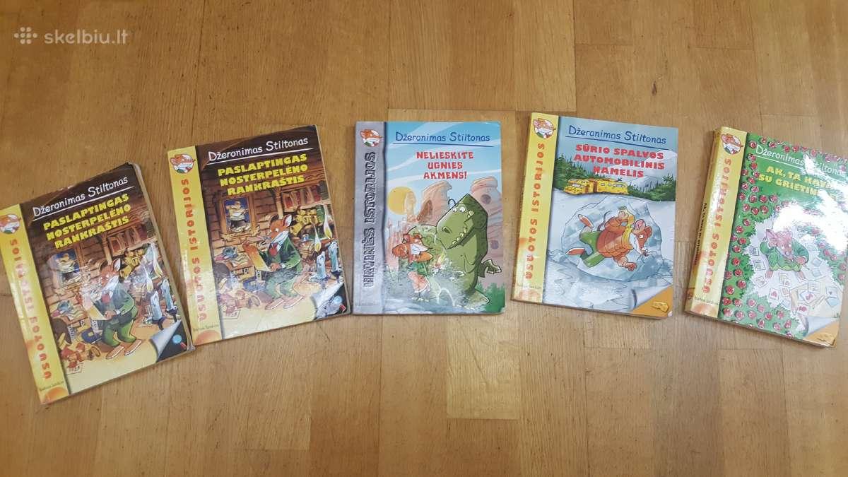 Džeronimo Stiltono knygos