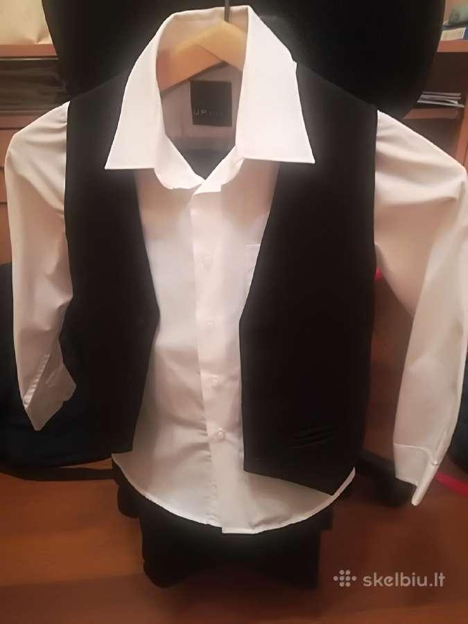 Kostiumas, kelnės, marškinėliai berniukui