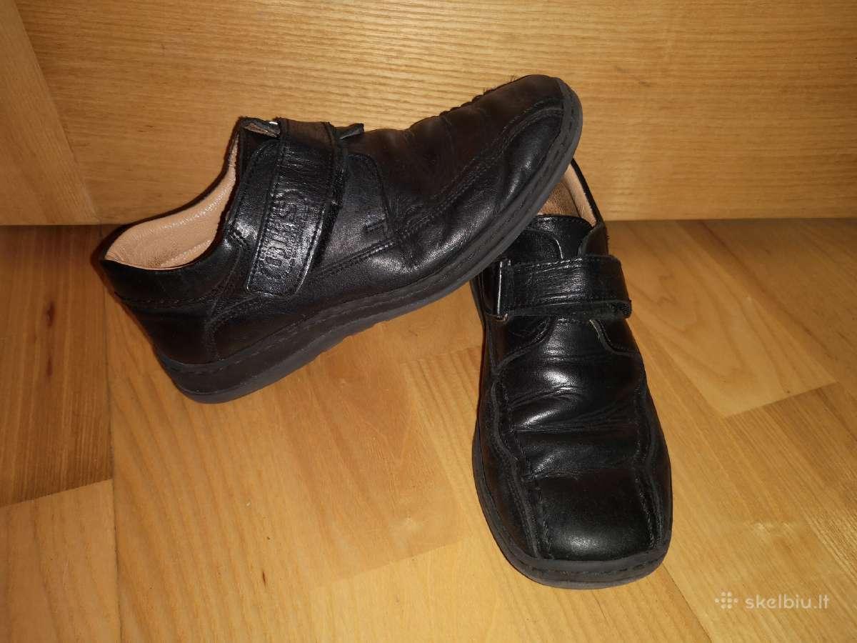32d odiniai juodi batai