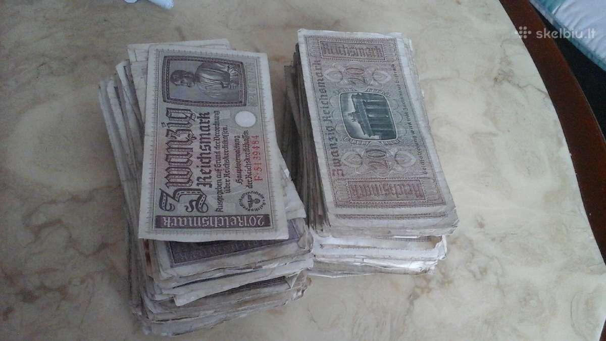 Perku banknotus, monetas
