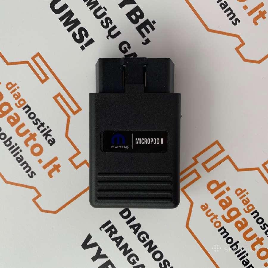 Witech Micropod2 programinė diagnostikos įranga