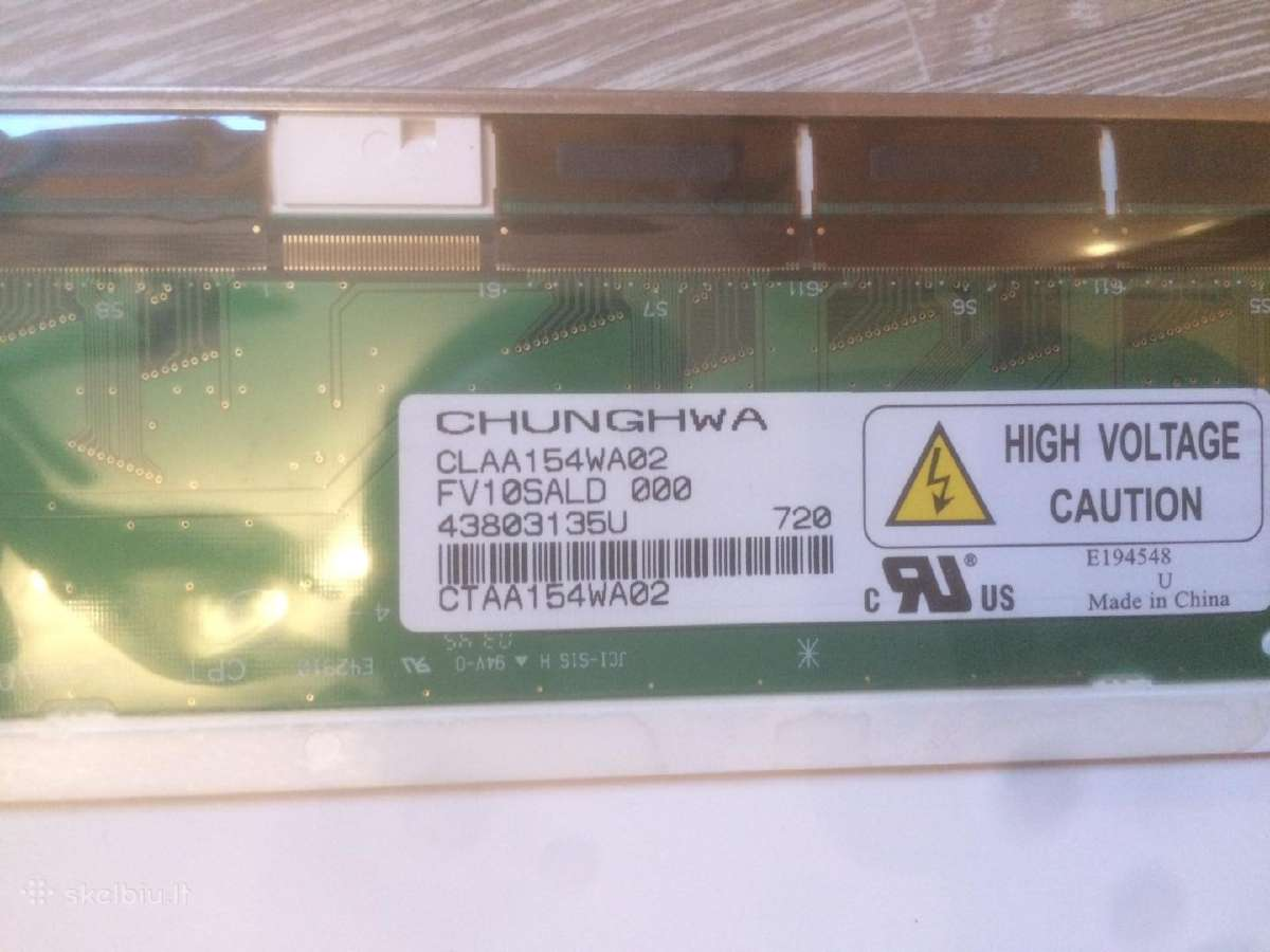 "15.4"" Claa154wa02 Wxga Laptop LCD matrica"