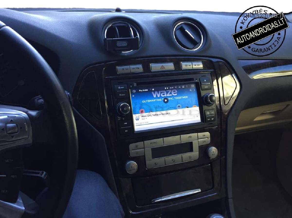 """Ford 2003-11 Android 8 multimedia Usb/GPS/WiFi/7"""""""