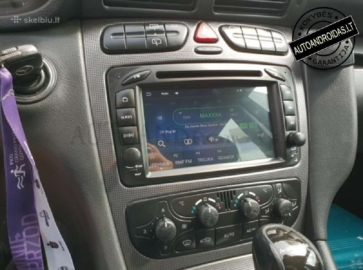Mercedes 1996-08 Android 8 multimedia Usb/GPS/WiFi