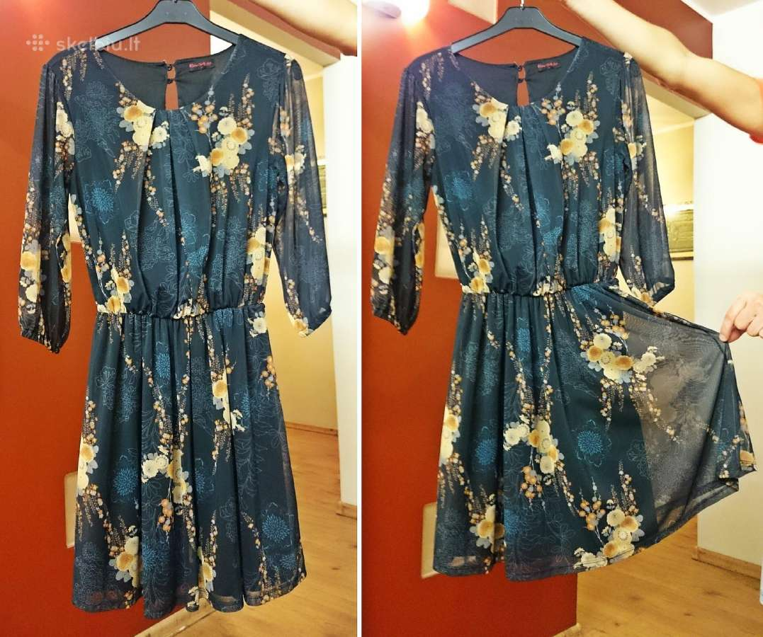 """! 19 eur stilinga gėlėta """"Miss Selfridge"""" suknelė"""