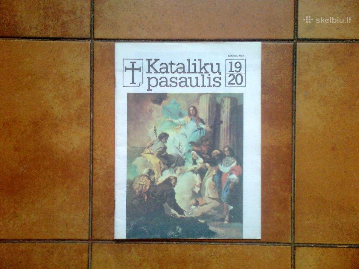 """Baltijos kelias """"Kataliku pasaulyje"""" 1989 metai"""