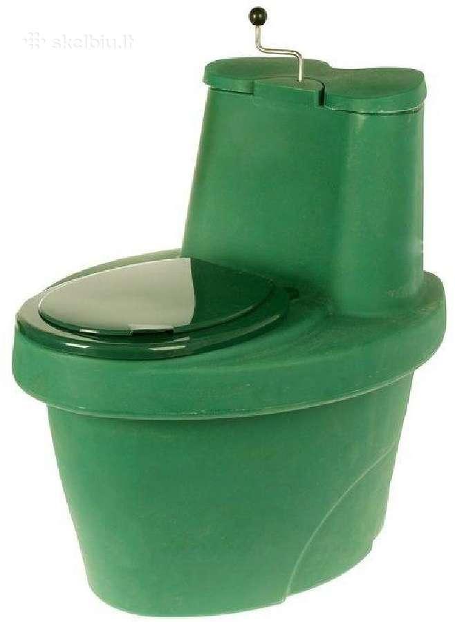 Sausas (durpinis) biotualetas, lauko tualetas