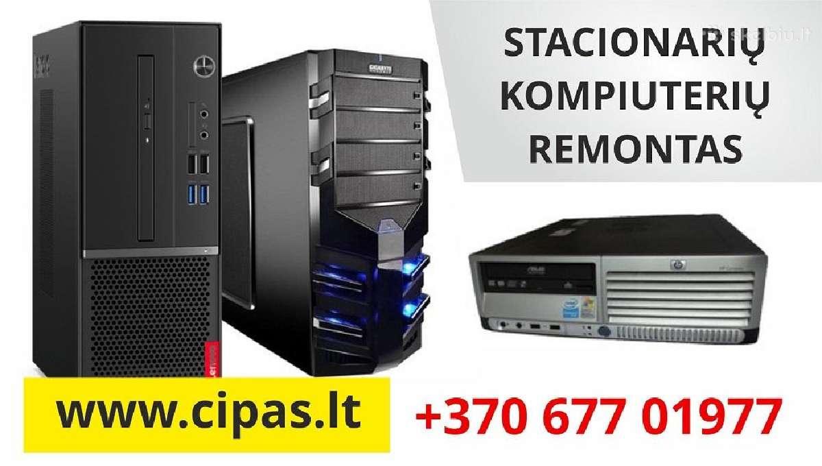 Greitas ir profesionalus Stacionarių Kompiuterių R
