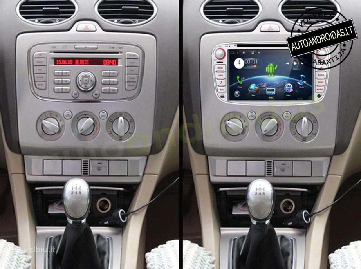 """Ford 2007-12 Android 8 multimedia Usb/GPS/WiFi/7"""""""