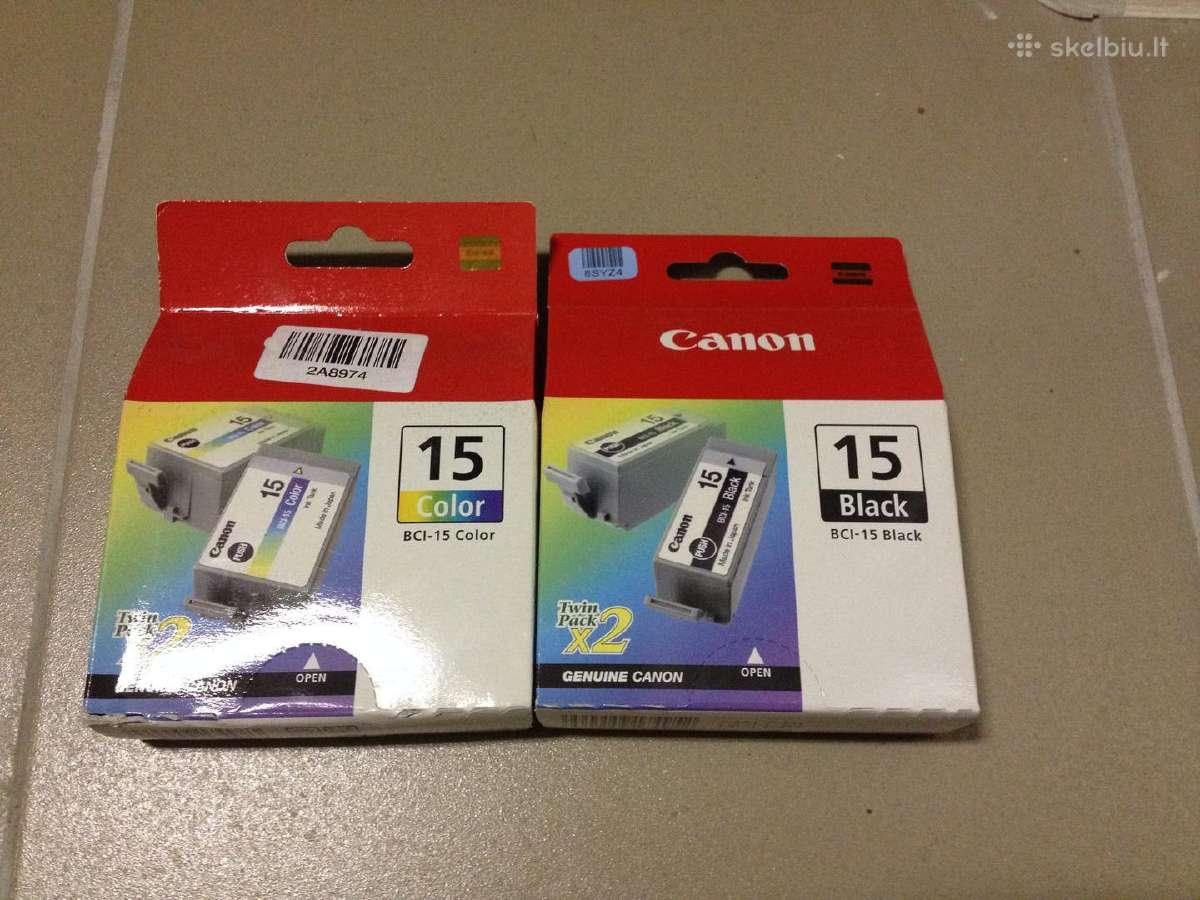 Canon Bci-15, Canon 521, Hp 88xl naujos rašalinės