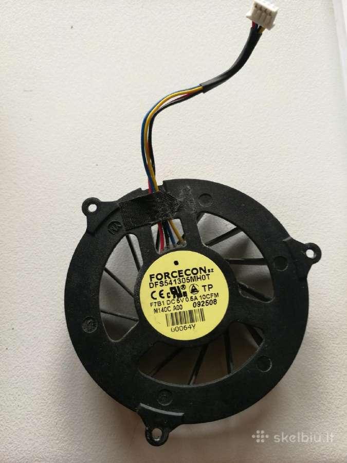 Dell studio 1537 aušintuvas ventiliatorius