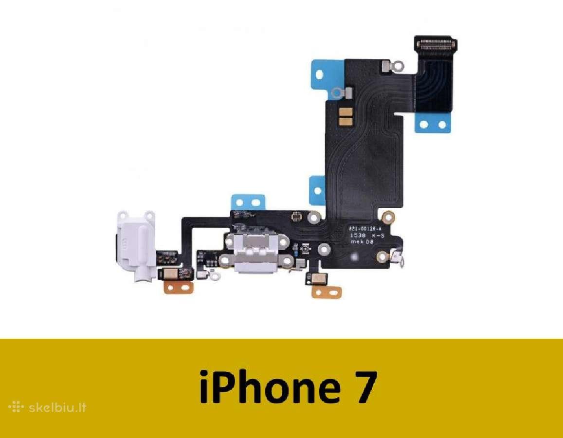 Originalios iPhone 7 dalys (šleifai, kameros)