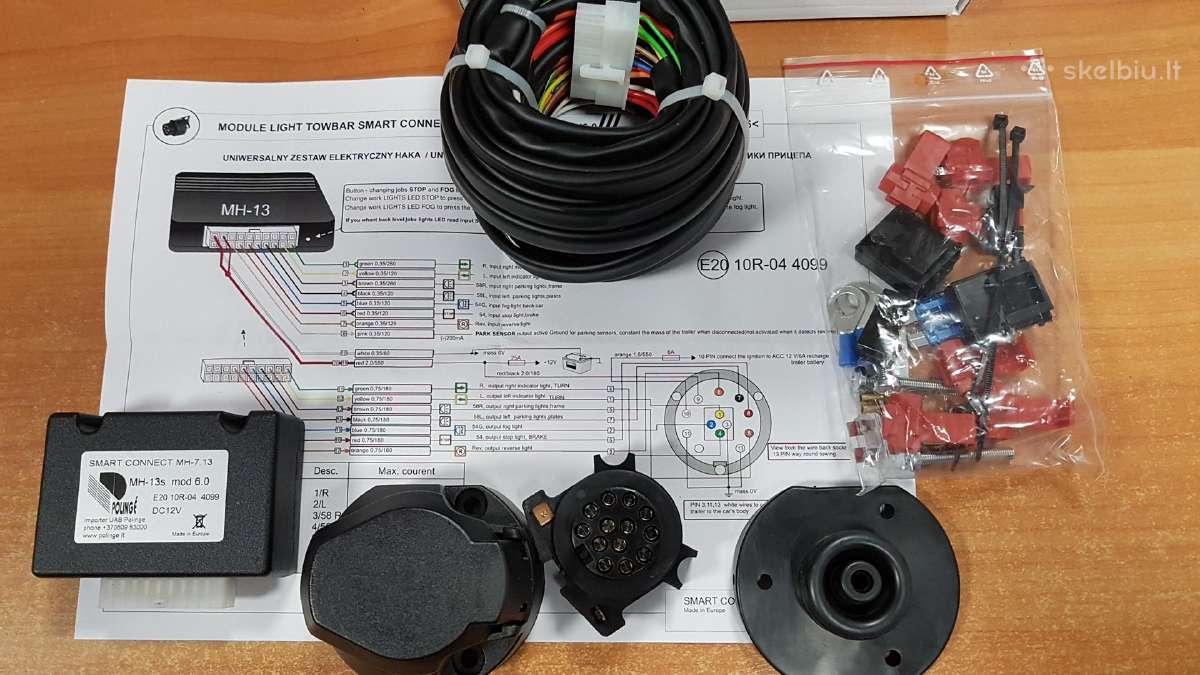 Kablio elektrinės dalies pajungimo modulis,blokas