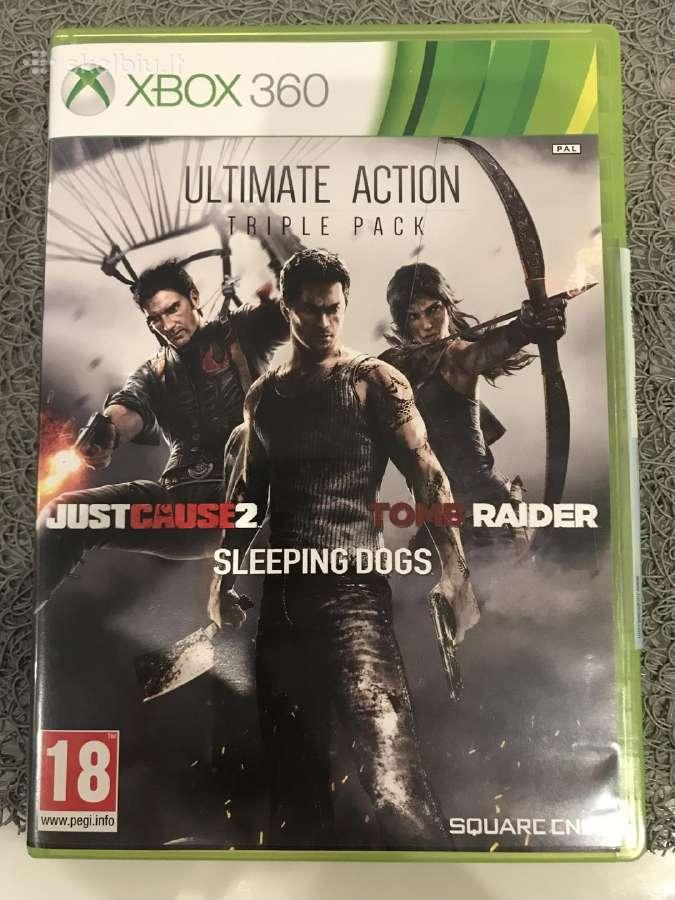 4 x Xbox 360 zaidimai