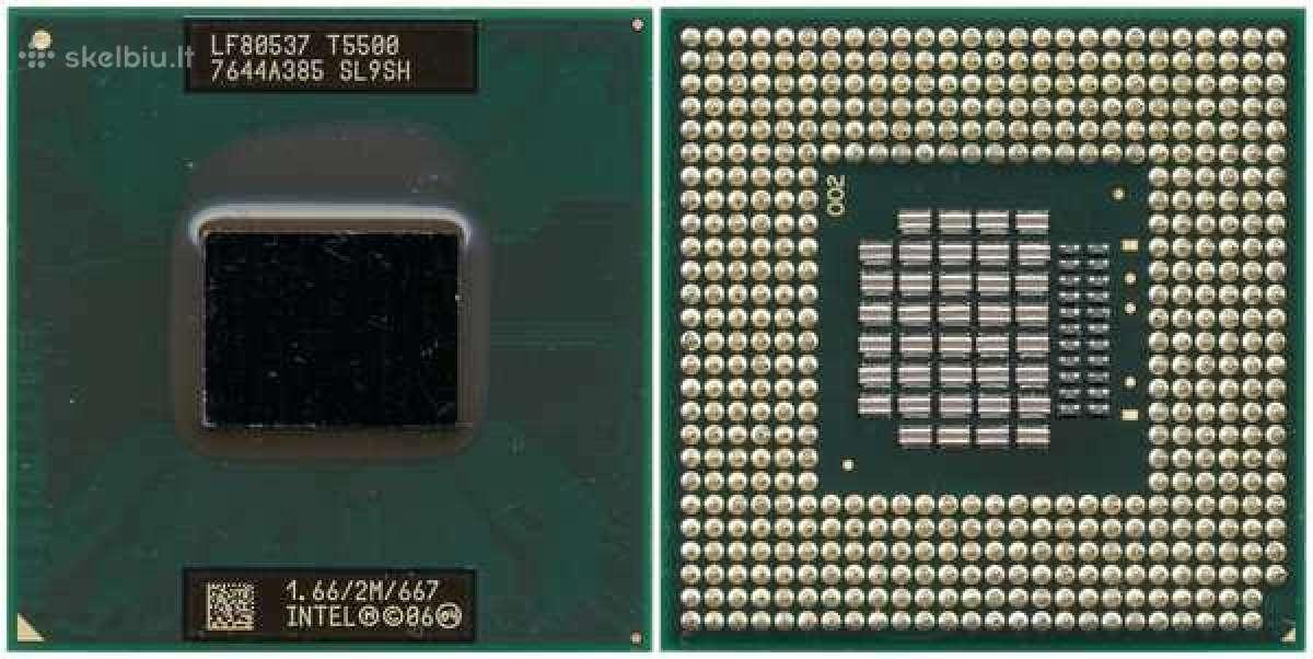 Nesiojamu kompiuteriu cpu (socket m, p, 478) (Ok)