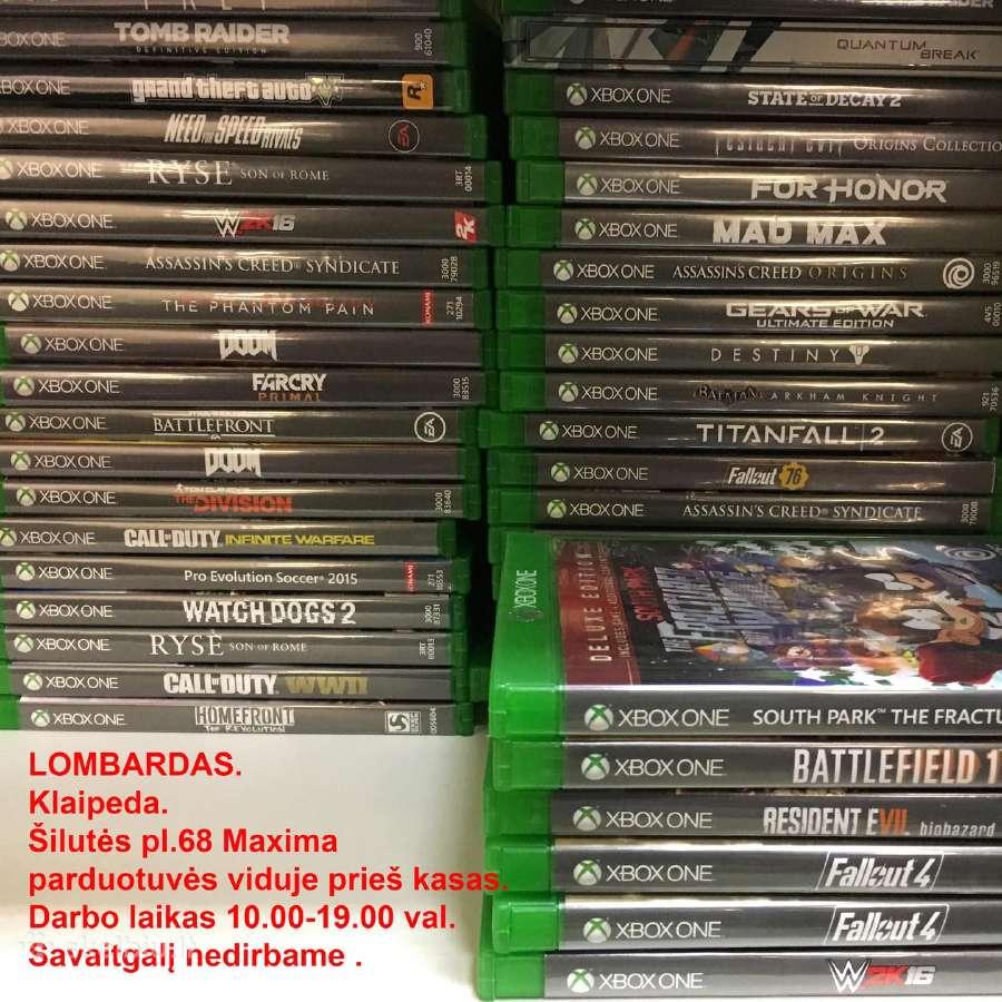Xbox One žaidimai, pardavimas ir keitimas