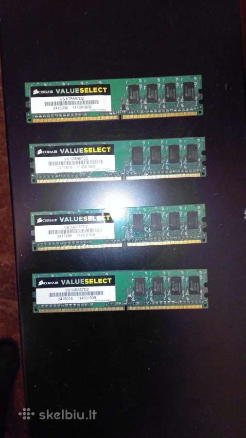 Corsair ddr2 4 x 1gb