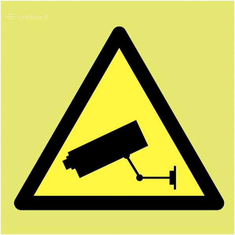 Įrengiame vaizdo stebėjimo (apsaugos) kameras