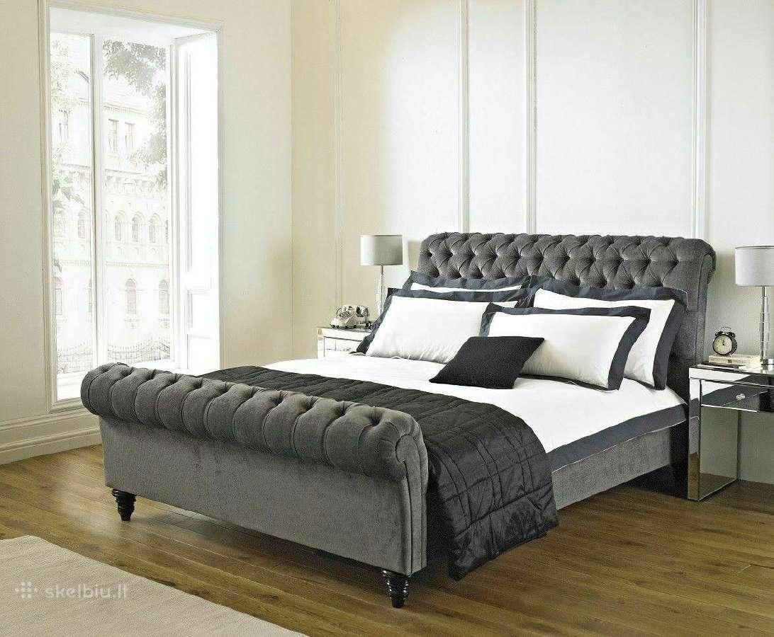 Nauja klasikinė prabangi lova