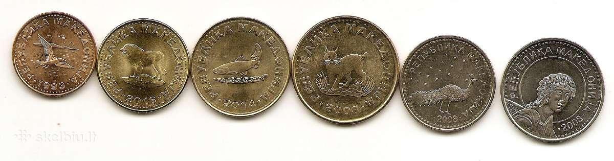 Makedonijos monetu rinkinukas